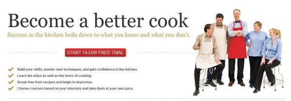 online cooking school